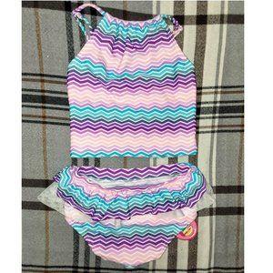 Cupid Girl Baby Tankini 2-Piece Bathing Suit